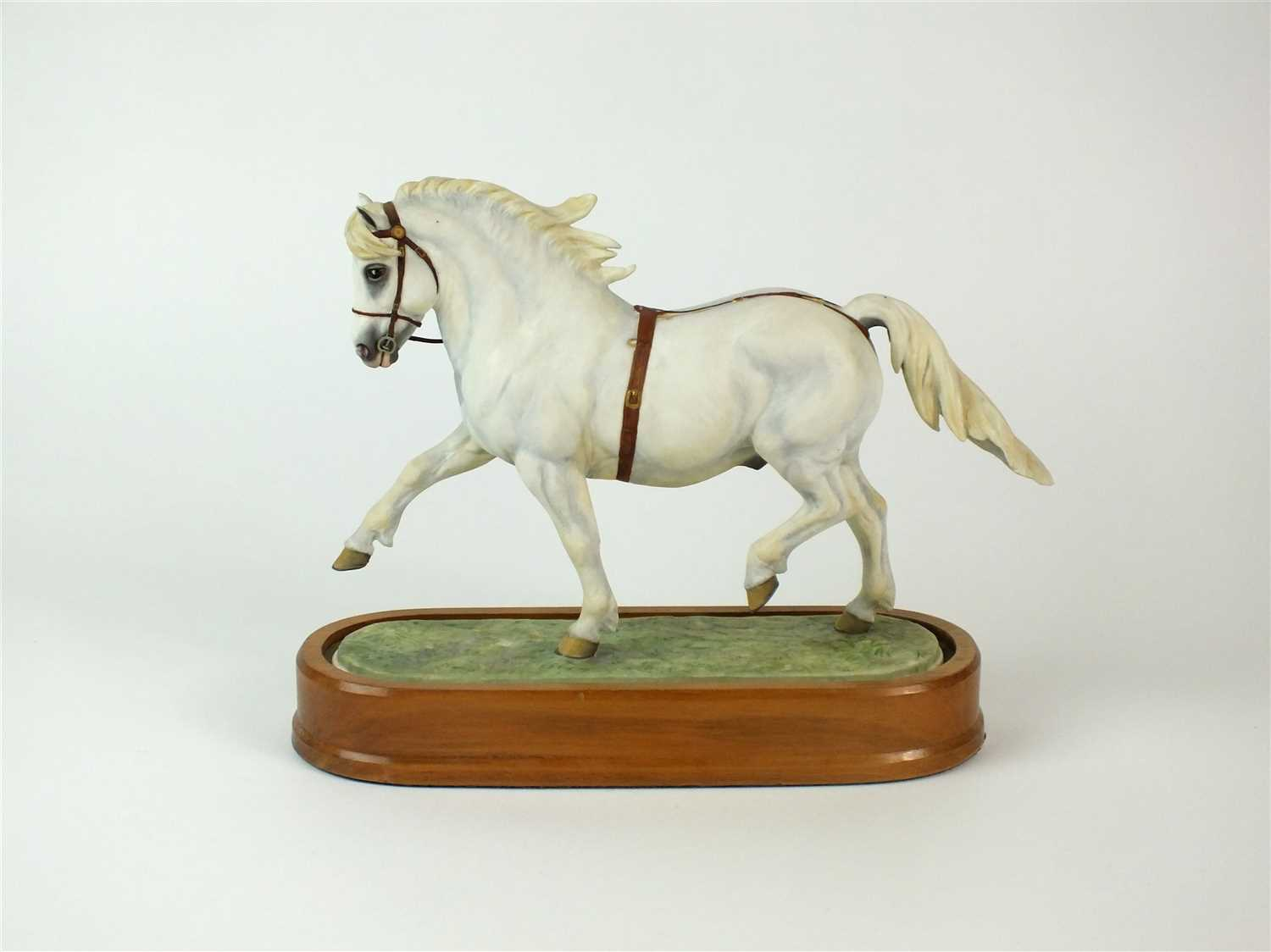 80 - A Royal Worcester model of a Welsh Mountain Pony