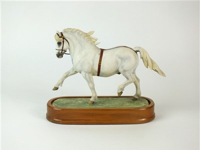 Lot 80 - A Royal Worcester model of a Welsh Mountain Pony