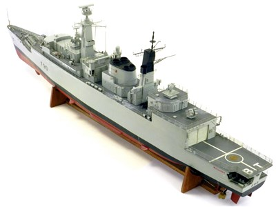 Lot 608-HMS Brilliant Royal Navy Type 22 frigate 1/97...