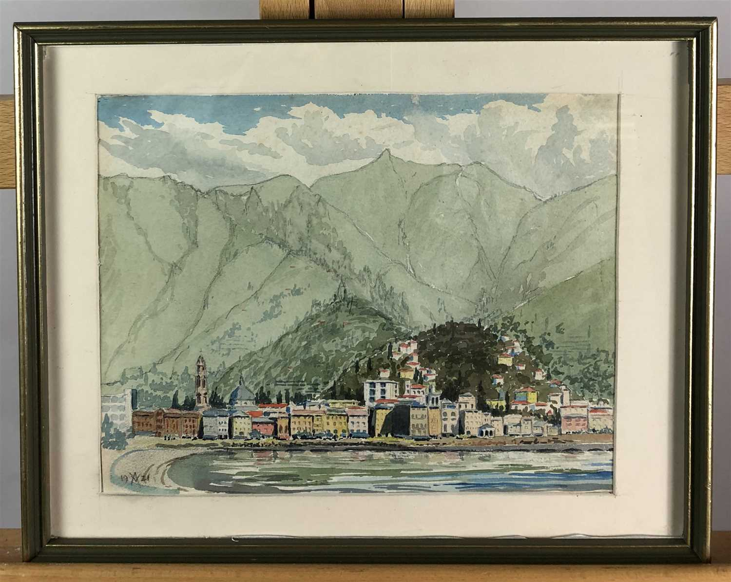 Lot 67-A Vallette - watercolour