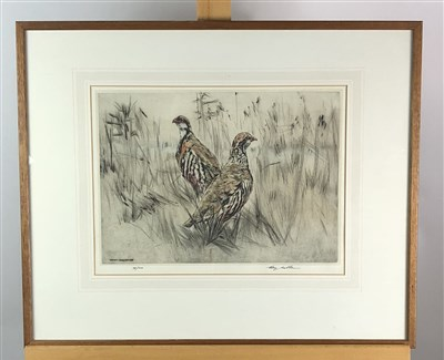 Lot 61-Norman Wilkinson, etching, Lionel Edwards