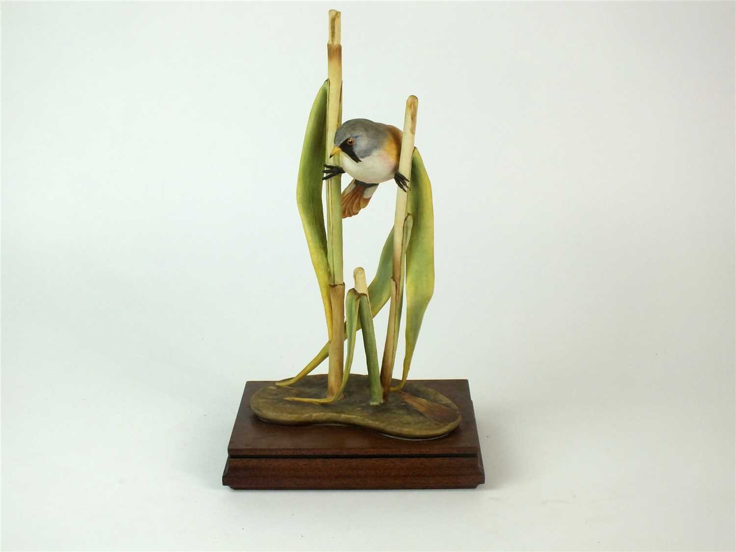 Lot 87-A Royal Worcester model of a Bearded Reedling