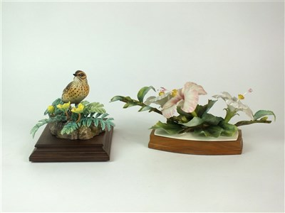 Lot 89 - Two Royal Worcester models