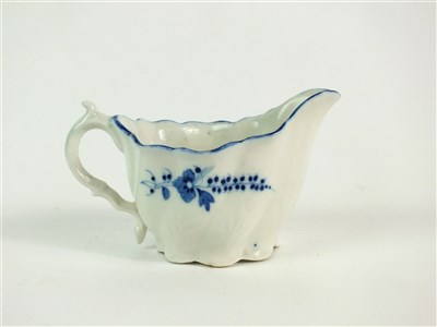 Lot 57 - A Caughley Chelsea ewer