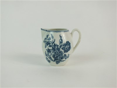 Lot 56-A Caughley robin's beak cream jug