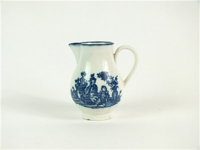 Lot 60 - A Caughley sparrow beak cream jug