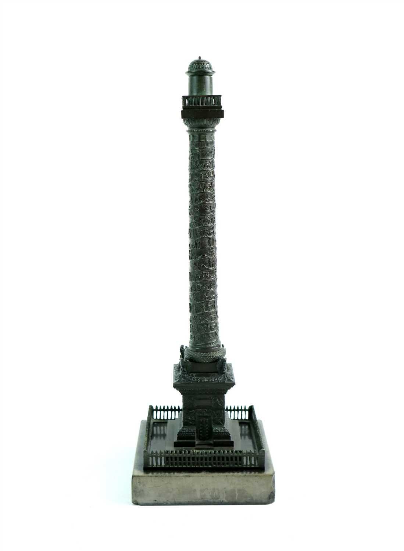 Lot 174-A grand tour type bronze replica of Trajan's Column