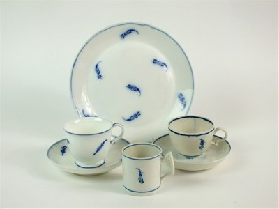 Lot 29-An interesting comparison group of Locre or a la Brindille porcelain