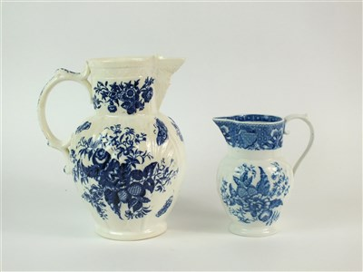 Lot 32-Two early 19th century Coalport jugs
