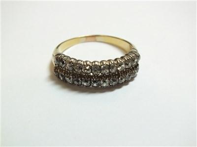 Lot 253 - An 19th century diamond ring