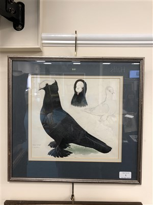 Lot 1-Charles Frederick Tunnicliffe  (1901 - 1979), Black Priest