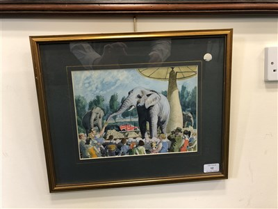 Lot 12-Charles Frederick Tunnicliffe (1901 - 1979), Elephant