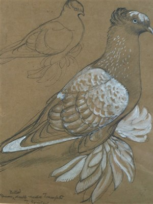Lot 16-Charles Frederick Tunnicliffe (1901 - 1979), Trumpeter