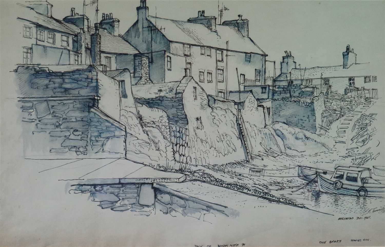 Lot 19-Charles Frederick Tunnicliffe (1901 - 1979), The Borth