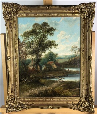 Lot 21-Thatch cottage landscape