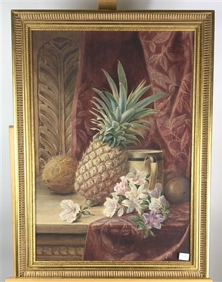 Lot 11-Watercolour still lifes