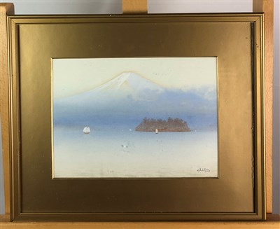 Lot 2-Japanese school Watercolours