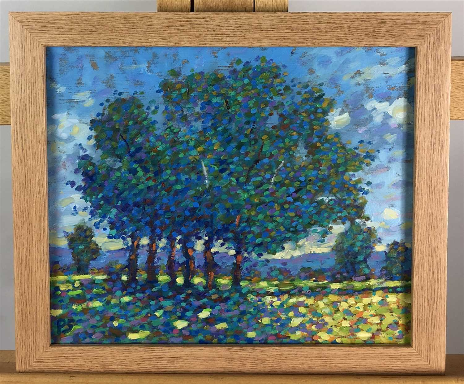 Lot 6-Paul Stephens, Spring Dappled levels