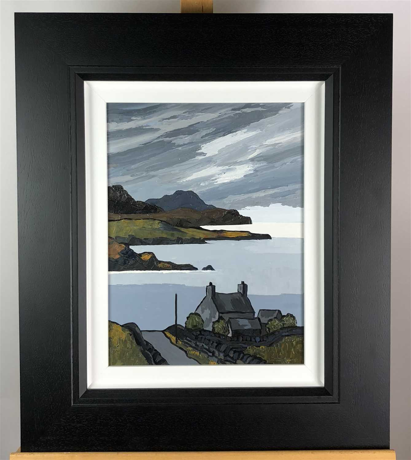 Lot 18-David Barnes, Towards the Isles