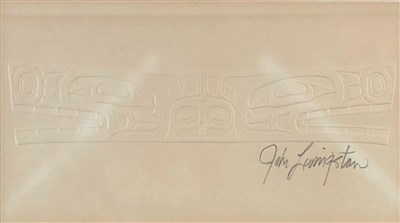 Lot 23-John Livingston (1951-2019), Canadian Kwakwaka'wakw Design
