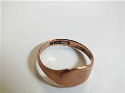 Lot 11-A collection of rings