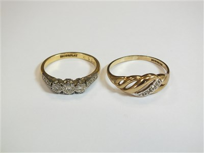 Lot 12-Two rings and two pendants