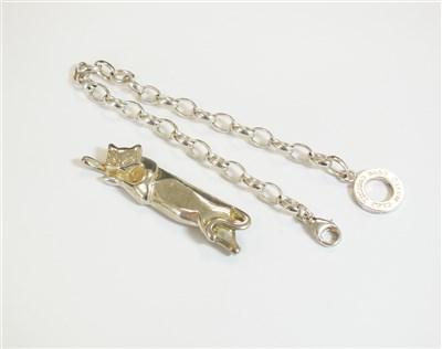 Lot 33-A Tiffany brooch and a Thomas Sabo bracelet