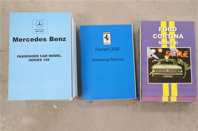 Lot 11-FERRARI 348 Workshop Manual, 4to circa 1990. With ...