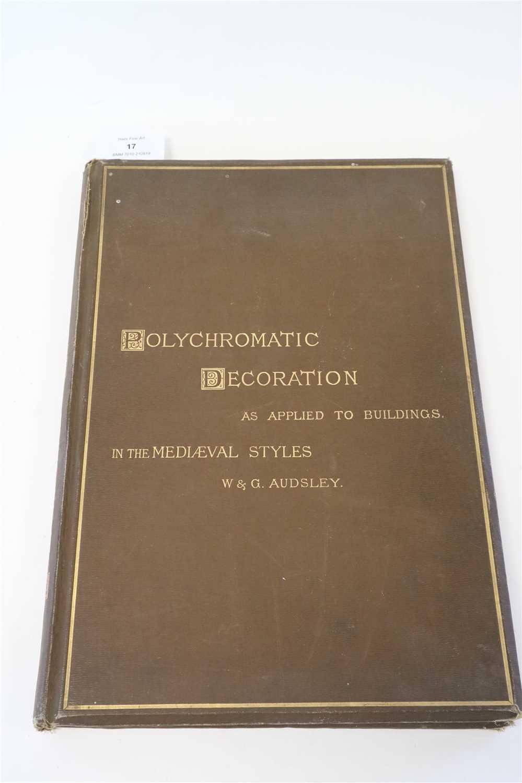 Lot 17-AUDSLEY, W & G, Polychromatic Decoration as...