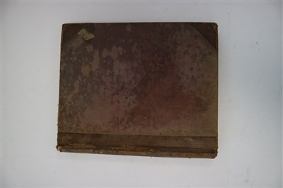 Lot 19-MANUSCRIPT. Observations on the weather at Salop. ...