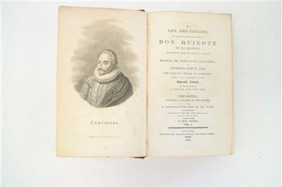 Lot 20-CERVANTES, Miguel De, Life and Exploits of Don...