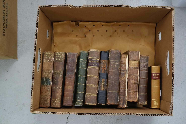Lot 21-BUTLER, Samuel, Hudibras, 2 vols 1799, annotation ...