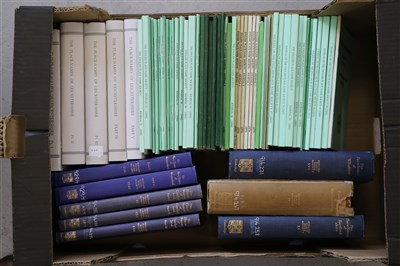 Lot 31-THE PLACE-NAMES OF LEICESTERSHIRE, 5 vols, with...