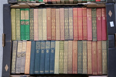 Lot 41-EVERYMAN'S LIBRARY, J M Dent and Sons. Circa 100...