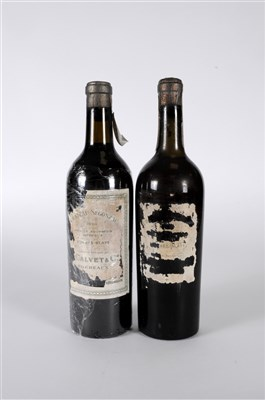 Lot 21-Chateau Segonzac 1928 2 bottles. The epitome of...