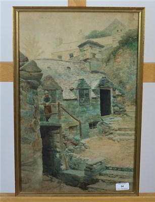 Lot 54-Barmouth watercolour