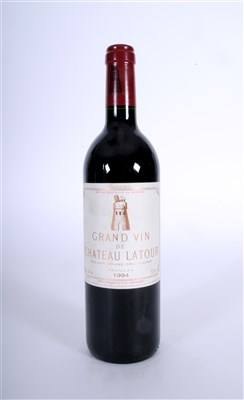 Lot 9-Chateau Latour 1994 1 bottle, 18/20 Revue du Vin...