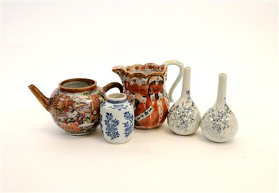 Lot 535-A group of Chinese and Japanese porcelain