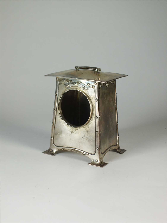 205 - A Liberty & Co Cymric silver clock case