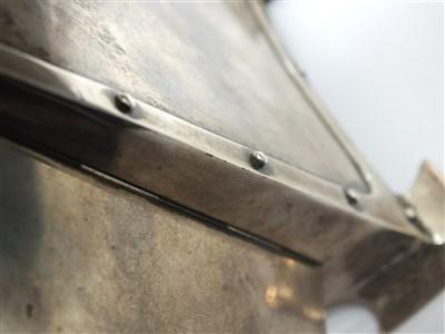 Lot 205 - A Liberty & Co Cymric silver clock case