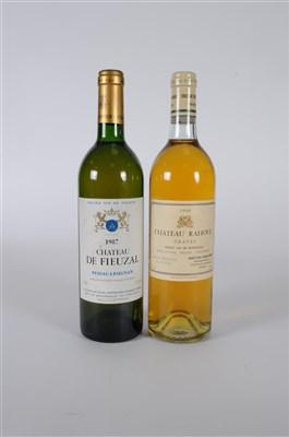 Lot 58-Bordeaux Blanc Box   Chateau Malagar 1999 1...