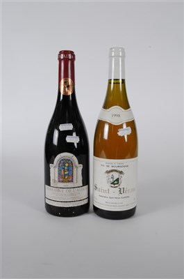 Lot 59-French Regional Box   Grand Cuvee Chardonnay 1999 ...
