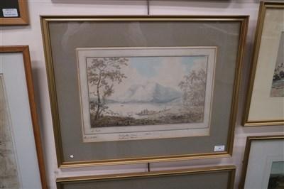 Lot 41-John Laporte (1761-1839) pair of watercolours