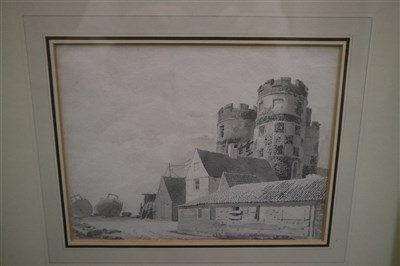 Lot 44-Michael Angelo Rooker (1743-1801), South Gate, Great Yarmouth