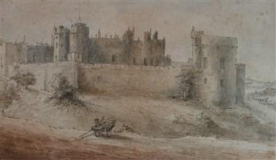 Lot 29-James Moore (1762-1799), Alnwick Castle