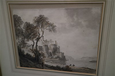 Lot 34-Paul Sandby RA (1730-1809), Conwy Castle