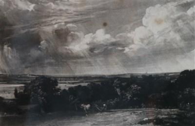 Lot 42-D. Lucas (1802-1881) after J. Constable, 'A Summerland'