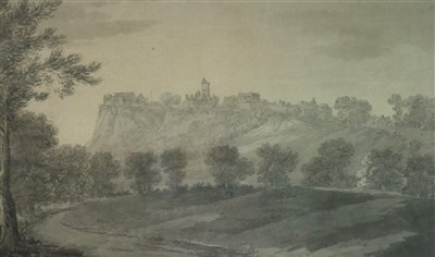 Lot 28-John Inigo Richards (1720-1810), 'An Extensive View of Stirling'