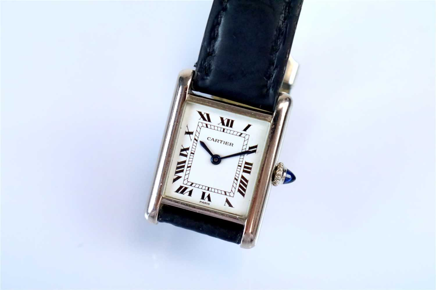 "351 - A Ladies Cartier Tank Paris ""Louis"""