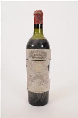 Lot 12-Chateau Mouton Rothschild 1949 1 bottle, vts,...